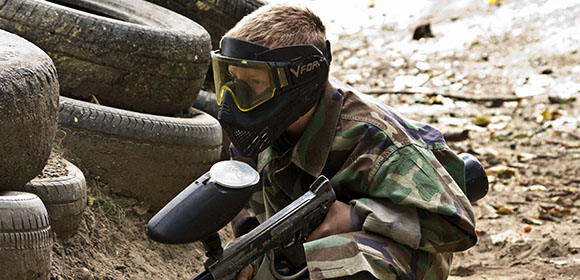 paintball action photos slideshow